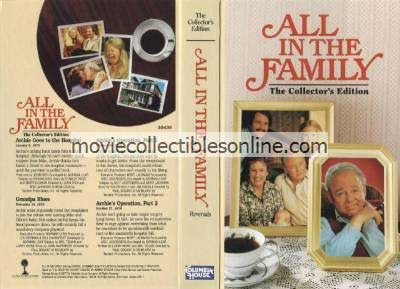 All in the Family VHS - Archie Goes to the Hospital, Grandpa Blues, Archie's Operation