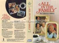 All in the Family VHS - Edith's Accident, Edith the Judge, Mike's Appendix, Archie Learns His Lesson