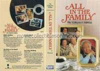 All in the Family VHS - Edith's Problem, Battle of the Month, Gloria's Shock, New Year's Wedding