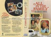 All in the Family VHS - Gloria's Boyfriend, Lionel's Engagement, Archie's Helping Hand, Archie Finds a Friend