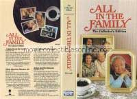 All in the Family VHS - Judging Books By Covers, Gloria Discovers Women's Lib, First & Last Supper, Archie & the Editorial