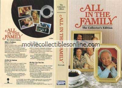 All in the Family VHS - Mike's Problem, Archie Is Jealous, Threat, Oh Say Can You See