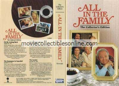 All in the Family VHS - Oh My Aching Back, Insurance Is Canceled, Elevator Story, Locket
