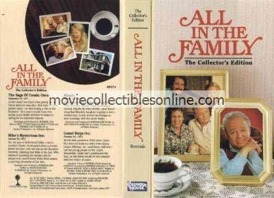 All in the Family VHS - Saga of Cousin Oscar, Mike's Mysterious Son, Maude, Lionel Steps Out