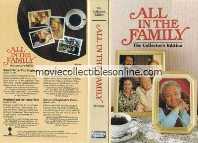 All in the Family VHS - What'll We Do with Stephanie, Stephanie & the Crime Wave, Stephanie's Conversion, Return of Stephanie's Father