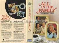 All in the Family VHS - Writing the President, Election Story, Man in the Street, Mike Comes into Money