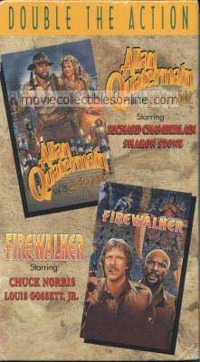 Firewalker & Allan Quatermain & the Lost City of Gold VHS