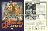 Allan Quatermain & the Lost City of Gold Press Facts