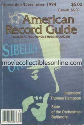 11/1994 American Record Guide