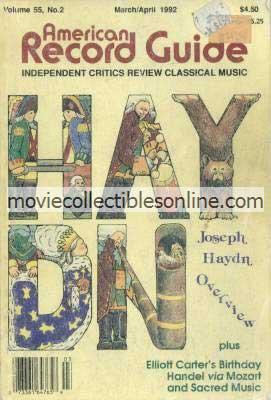 3/1992 American Record Guide