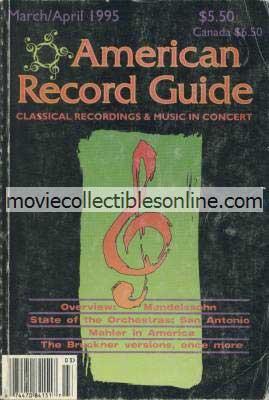 3/1995 American Record Guide