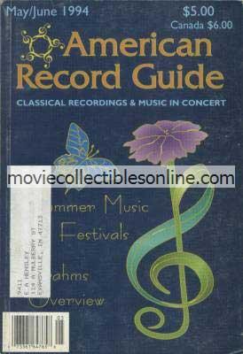 5/1994 American Record Guide