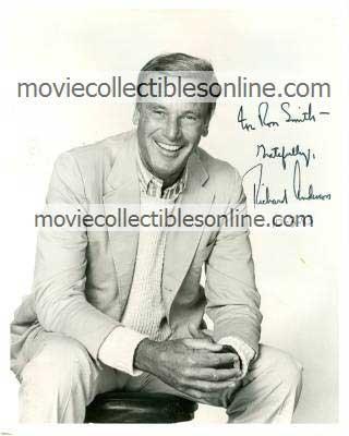 Richard Anderson Autographed Photo