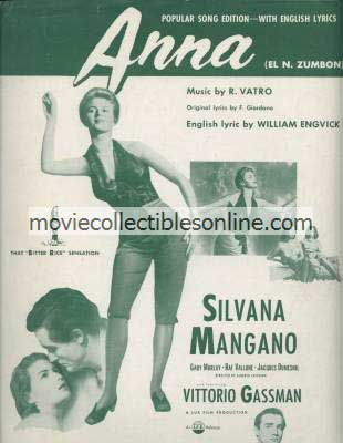 Anna Sheet Music